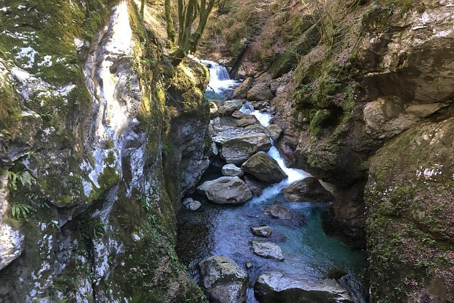 Soca Valley Tolmin Gorges