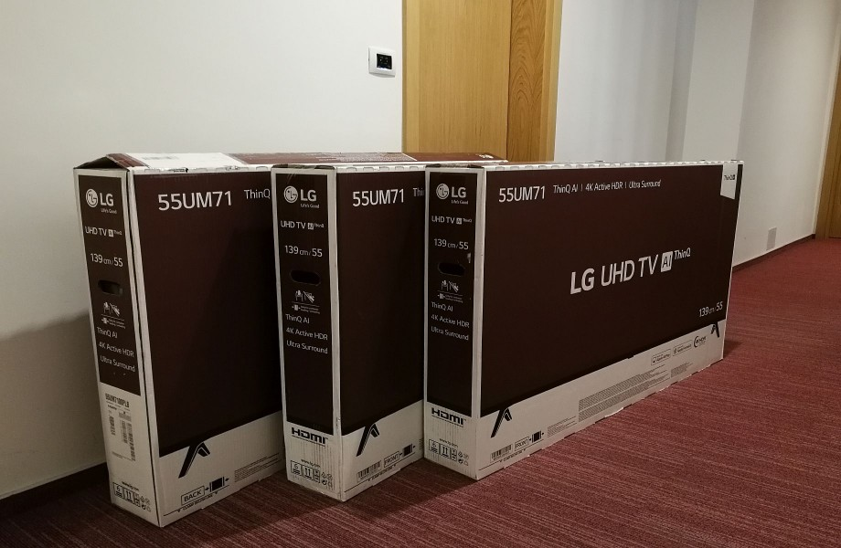 New (extra) large TV sets